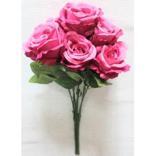 Букет роз натуральных 7 голов