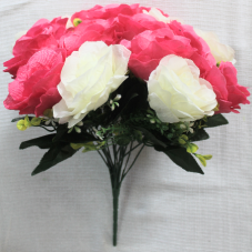 Букет двухцветных роз