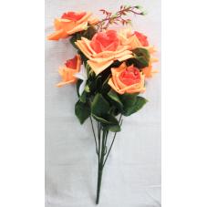 Букет остроугольной розы с украшением