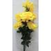 Букет крупных распущенных роз