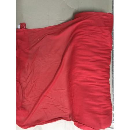 Ткань красный атлас