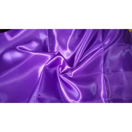 Атлас темно сиреневый, ткань плотная. Цена оптовая, продаем в розницу и оптом.