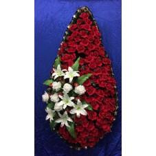 Черепаха 1.5 элит с бархатными розами